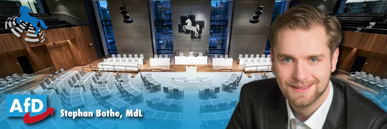 Stephan Bothe, MdL – Landtag Niedersachsen – Alternative für Deutschland